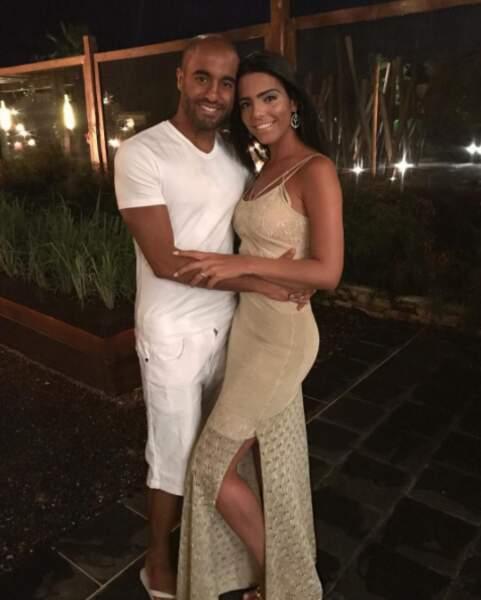 Lucas a passé la nuit de la Saint-Sylvestre en couple avec sa compagne Larissa Saad !