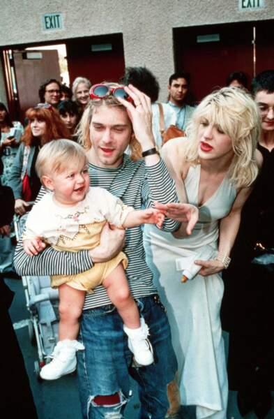 Courtney Love et Kurt Cobain, mariés pour le meilleur ... et le pire