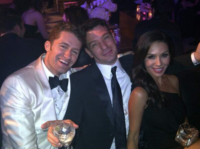 Matthew Morrison (Glee) bien entouré aux Oscars