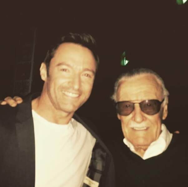 Quand Wolverine rencontre son créateur... Stan Lee (Marvel comics)