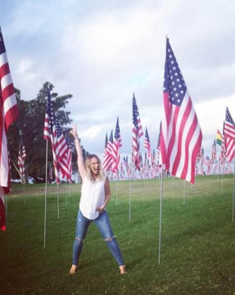 Une vraie Américaine