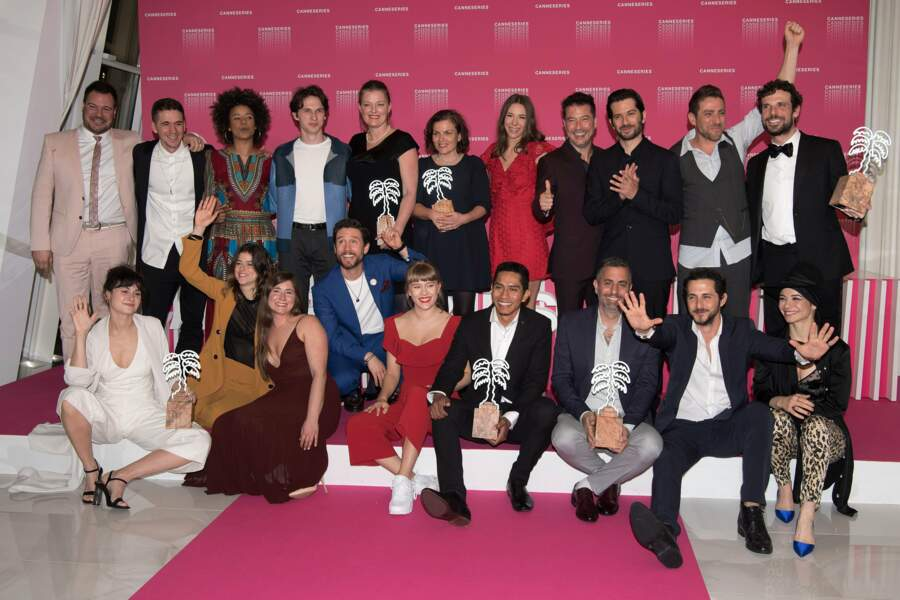 Et voici les gagnants de la compétition de cette première édition de Cannes Séries