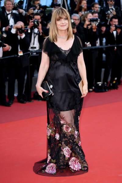 Nastassja Kinski, actrice allemande. Mais oui, encore une frange !