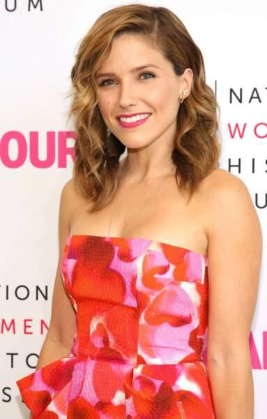 La jeune actrice sur un tapis rouge, en août 2014