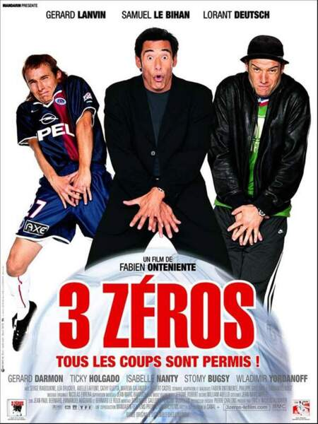 3 zéros. Un film avec un match de foot où il y aura 3 buts.