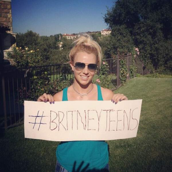 Britney Spears a un message pour vous...