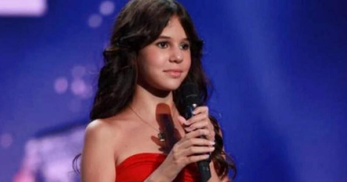Autre révélation, la petite Marina remporte La France a un incroyable talent en 2011