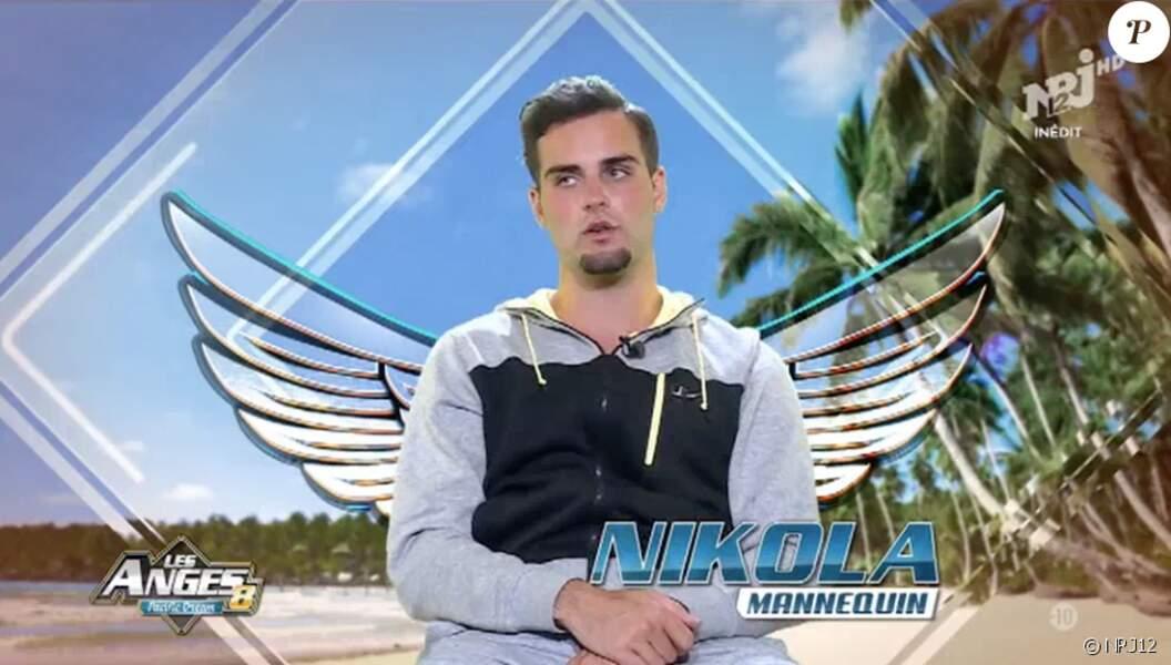 Dans Les Anges 8, Nikola Lozina arborait un look... Particulier !