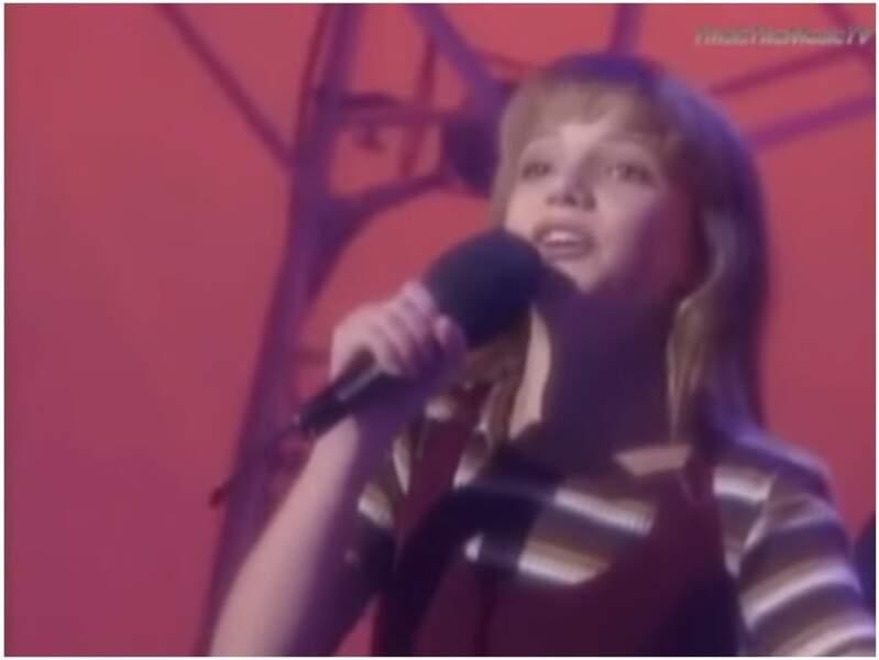 Même destin pour la petite Britney Spears, qui passe dans l'émission en 1992