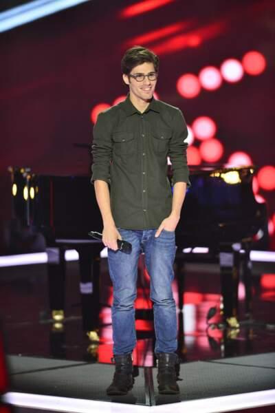 Quentin Bruno, 24 ans, talent de l'équipe de Mika