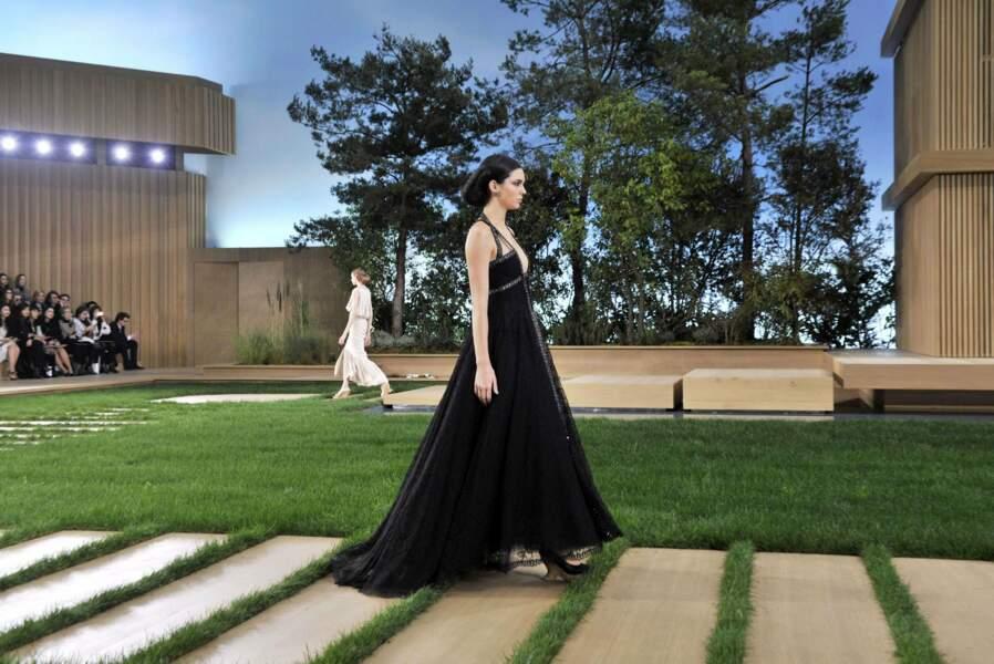 Kendall Jenner, l'une des mannequin du défilé Chanel