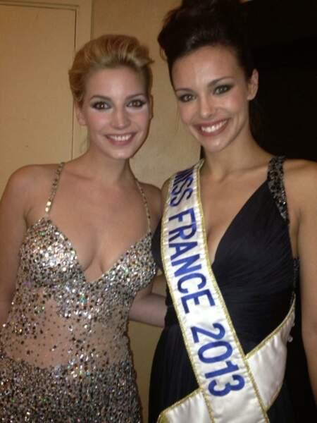 Et n'a pas peur de la comparaison avec Miss France !
