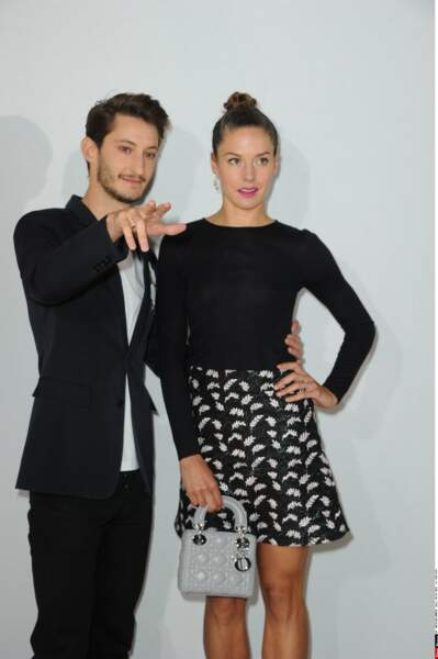Pierre Niney et sa chérie Natasha Andrews