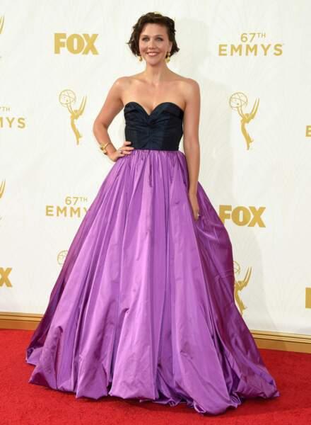 Maggie Gyllenhaal, la sœur de Jake, avait sortie la robe de princesse