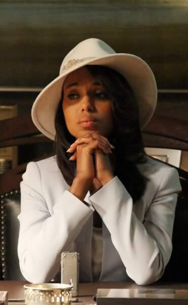 Ce chapeau a été créé spécialement pour la série et se trouve désormais dans le bureau de Shonda Rhimes !