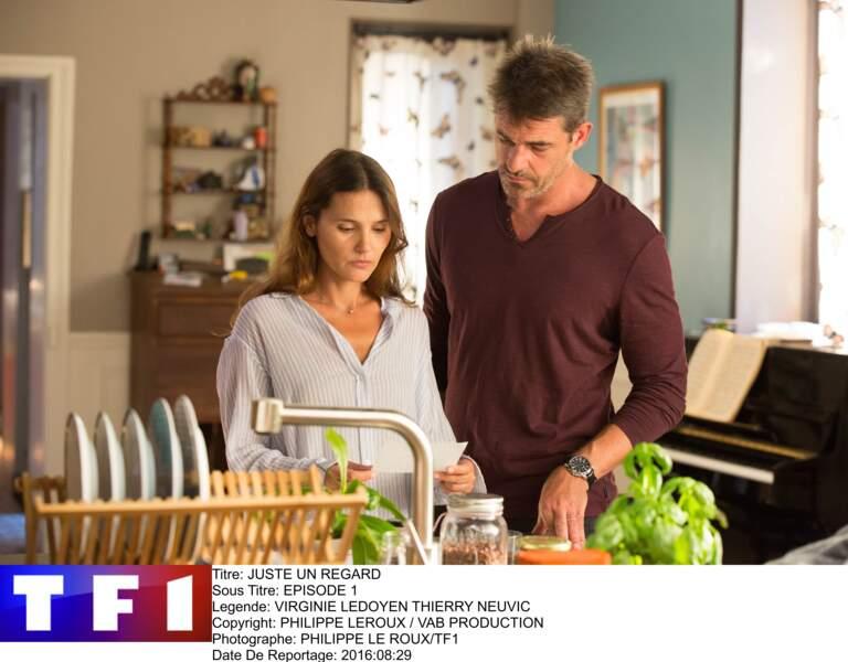 TF1 a fait appel à Virginie Ledoyen pour le premier rôle de la série Juste un regard