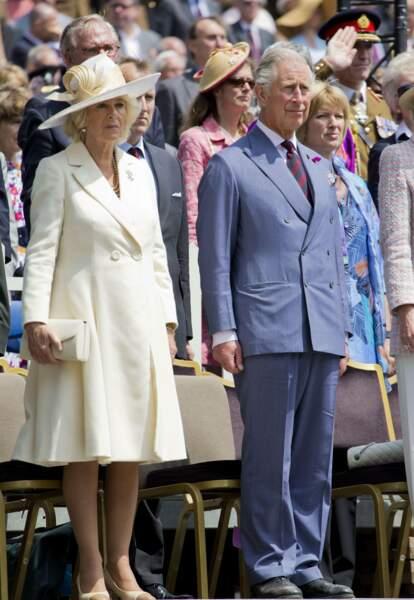 Juin : Camilla et Charles ne prennent pas la tasse aux commémorations du bicentenaire de la bataille de Waterloo