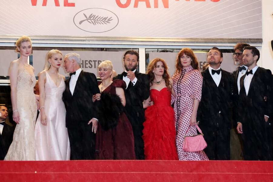 En haut des marches, Leonardo DiCaprio a déjà la tête dans les étoiles