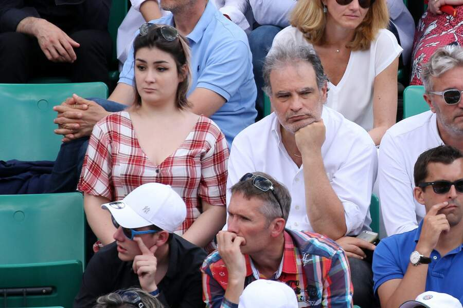 Raphaël Mezrahi a regardé les matches avec sa fille