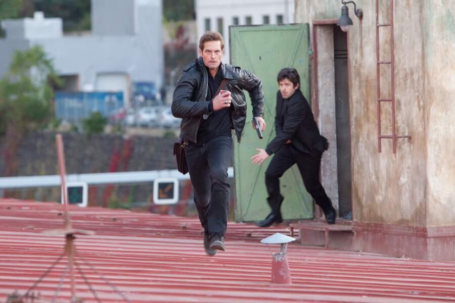 Avec Tom Cruise dans Mission Impossible 4 : Protocole Fantôme (2011)