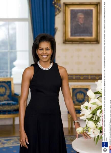 Avocate, Michelle Obama aura été la première First Lady noire de l'Histoire et certainement la plus médiatisée