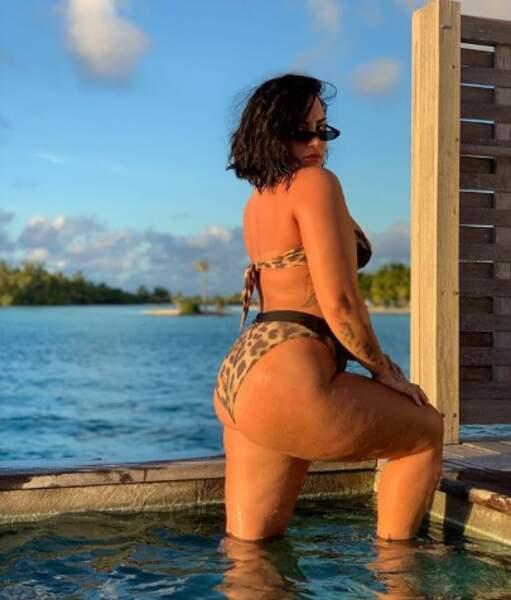 Demi Lovato a souhaité se montrer sans aucune retouche.