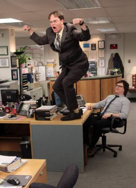 Mais Rainn Wilson, c'est aussi, ET SURTOUT, Dwight dans The Office