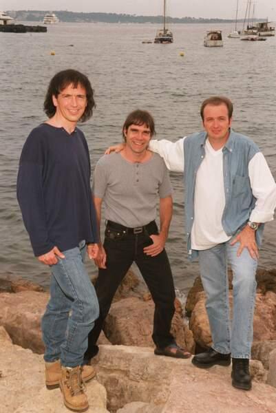 I Muvrini. Le groupe a été fondé par les frères Bernardini, enfants de l'île de Beauté.