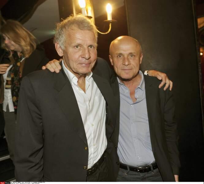 Patrick Poivre d'Arvor et son frère Olivier