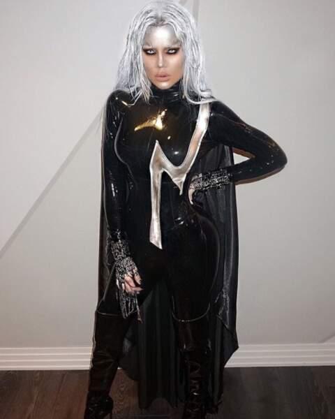Autre super-héroïne : Khloé Kardashian alias Tornade de la saga X-Men.