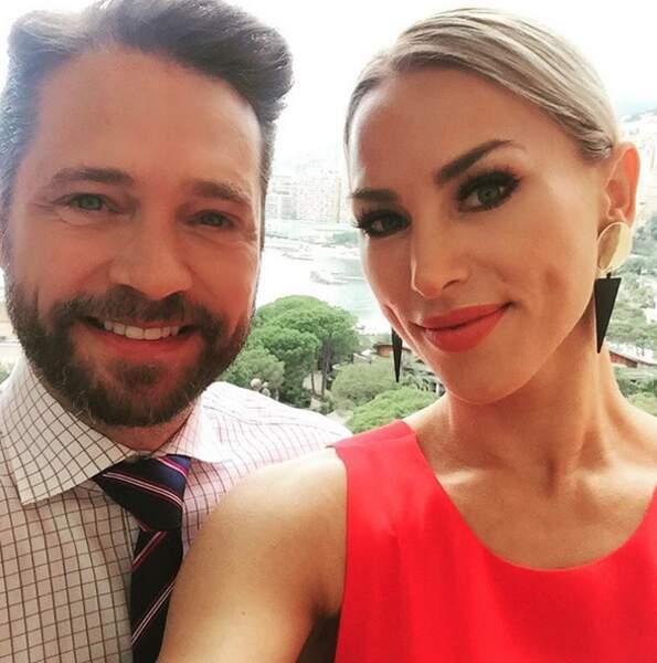 Jason Priestley et son épouse Naomie Lowde-Priestley