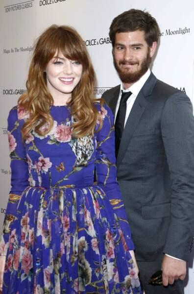 Emma Stone et Andrew Garfield ont eu un véritable coup de foudre lors de l'audition de The Amazing Spiderman.