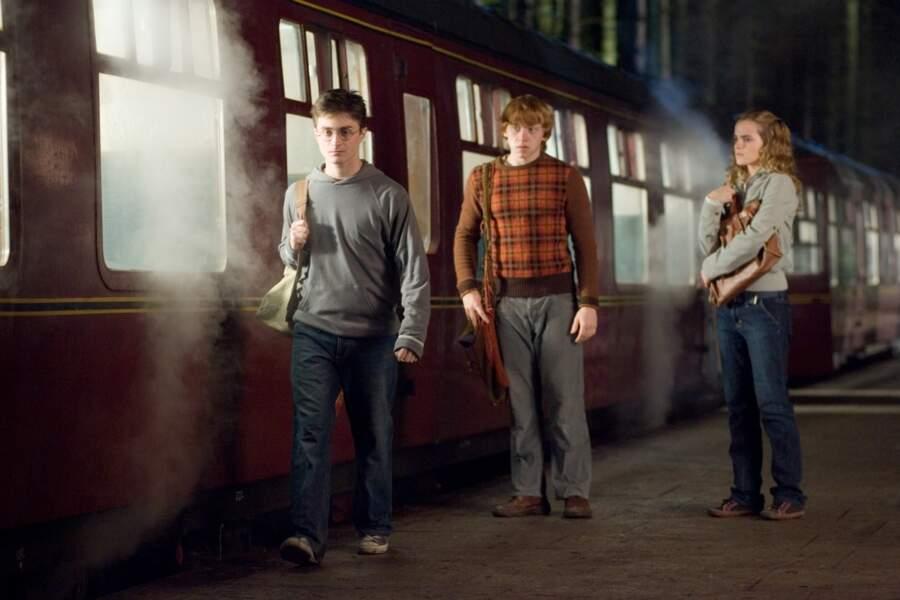 """2007. Les trois amis sont à nouveau réunis dans """"Harry Potter et l'Ordre du phénix""""."""
