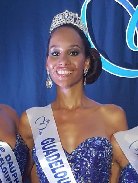 Johanna Delphin est miss Guadeloupe 2015