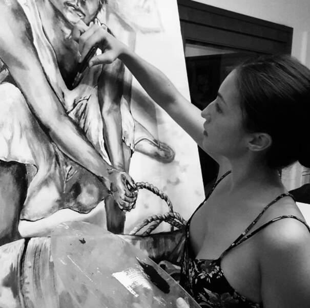 De la peinture à ses heures perdues...