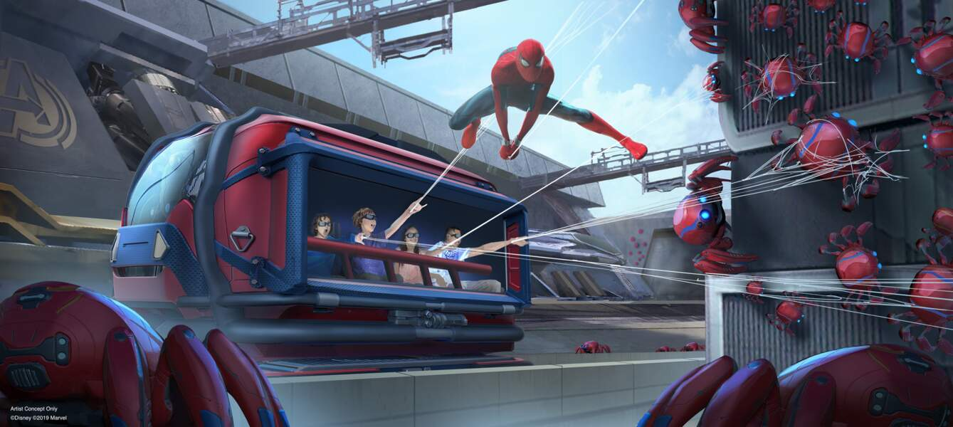 Une attraction Spiderman remplace l'attraction Armageddon