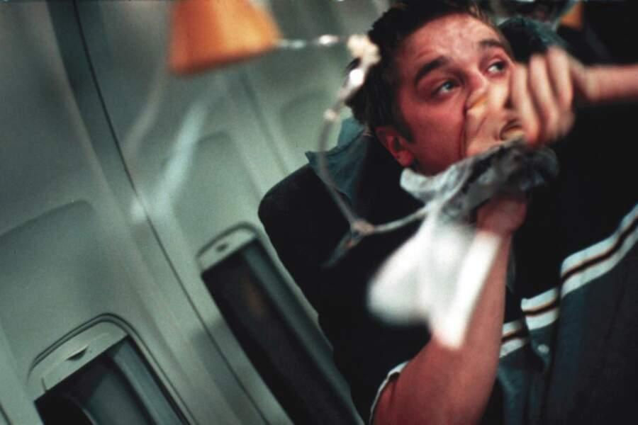 Devon Sawa, en pleine prémonition du crash de son avion dans Destination finale (2000)
