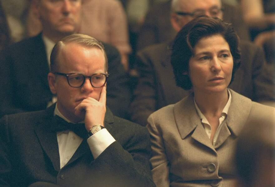 Philip Seymour Hoffman et Catherine Keener dans Truman Capote (2005)