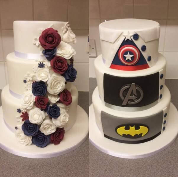 C'est ce qu'on appelle un super-gâteau !