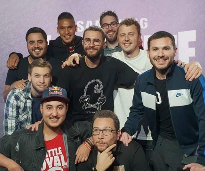L'insolite du jour : Alfonse Areola avec Norman, Cyprien et toute l'équipe du Stream