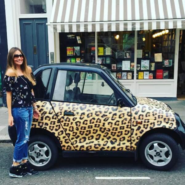 Sofia Vergara a trouvé la voiture de ses rêves.
