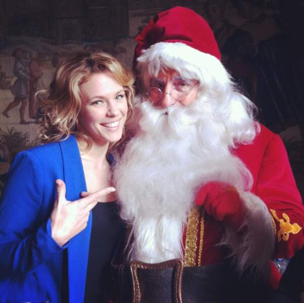 Lorie a retrouvé le sourire avec le Père Noël