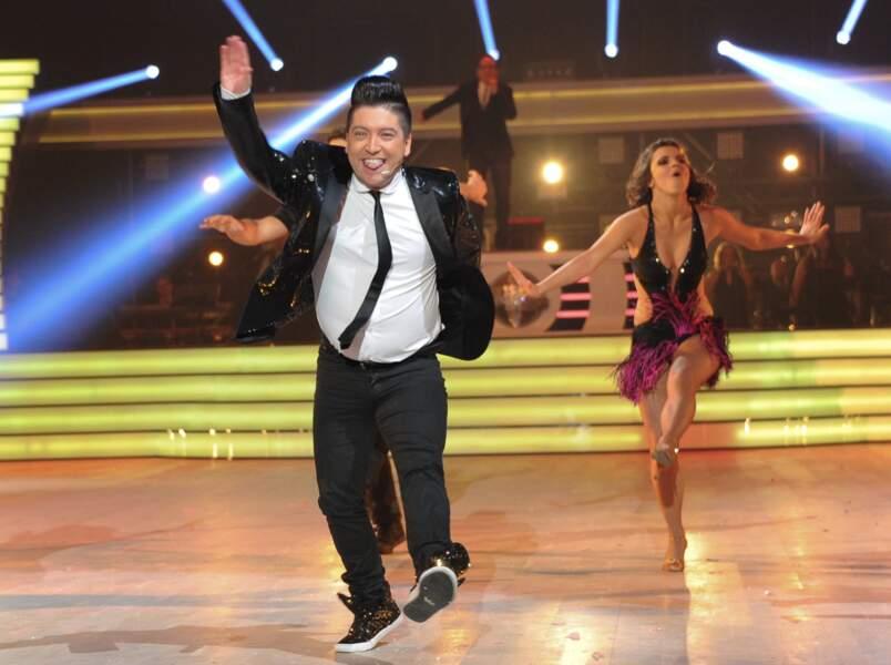 Chris Marques déchaîné à la première de la tournée Danse avec les stars à Bercy