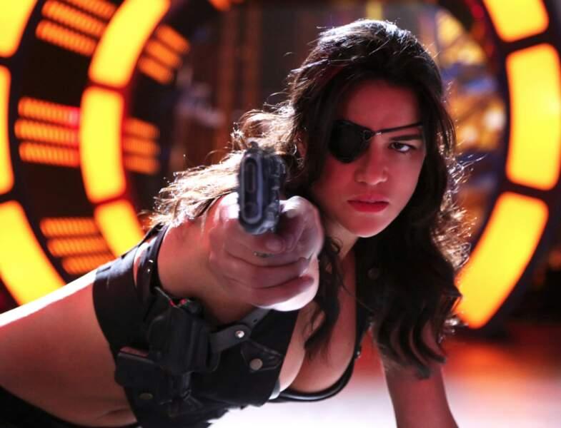 Après Lost, elle a choisi le cinéma : Fast and Furious (4, 6, 7 et 8) Avatar, ou ici Machete Kills