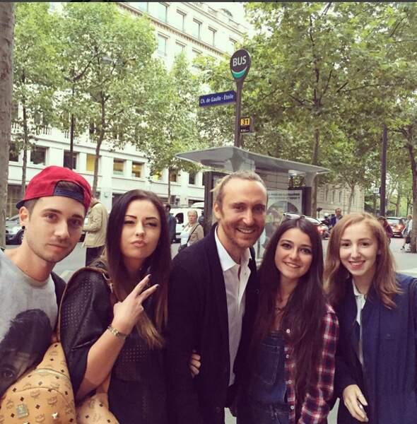 David Guetta aime ses fans français.