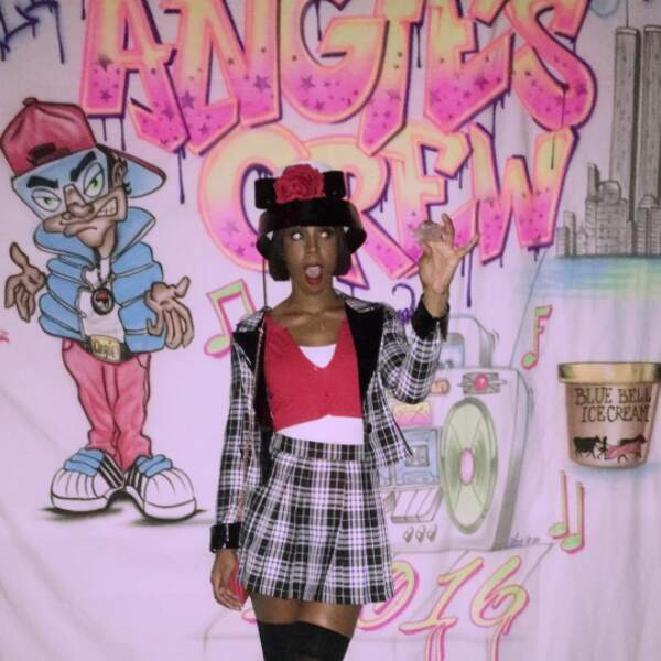 Kelly Rowland dans la série Clueless...