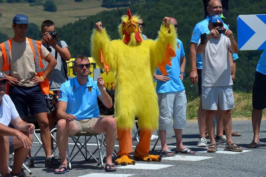 ... Mais pas autant que ce poulet