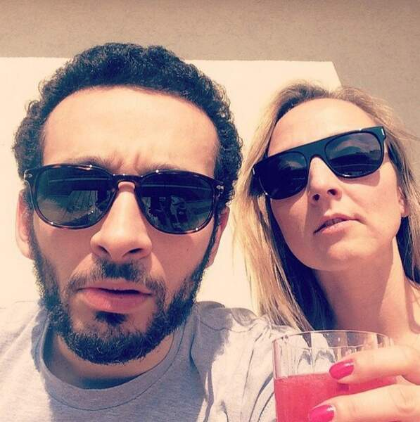... Audrey Lamy et William Lebghil (Slim dans SODA)...