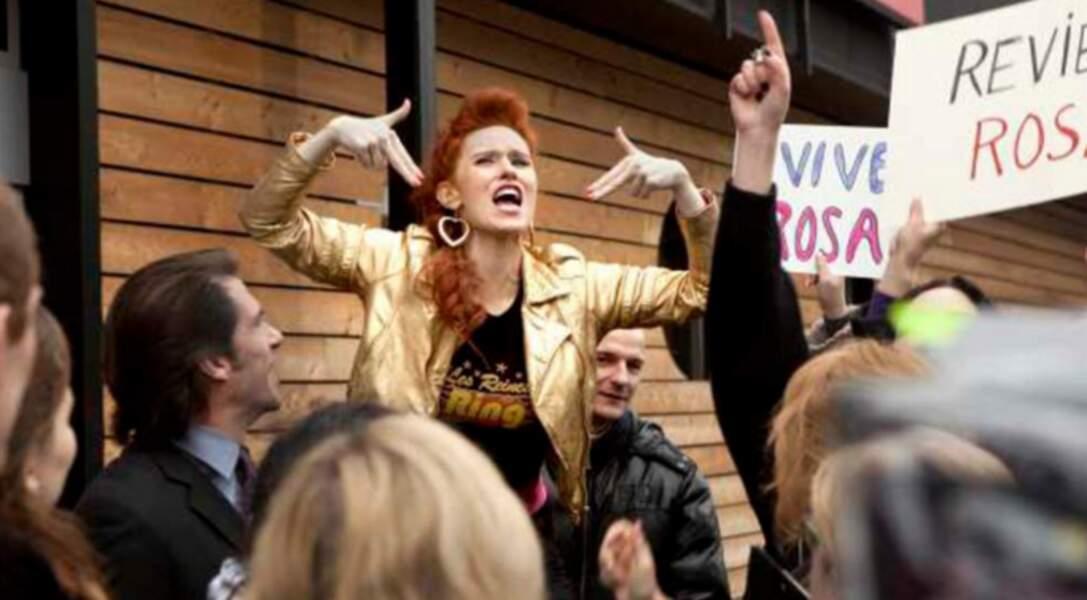 Les Reines du Ring (2013) : Audrey Fleurot n'hésite pas à se métamorphoser pour ses différents rôles