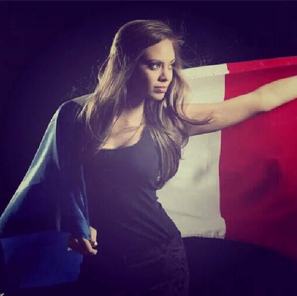 Hinarani de Longeaux est à Moscou pour représenter la France à Miss Univers